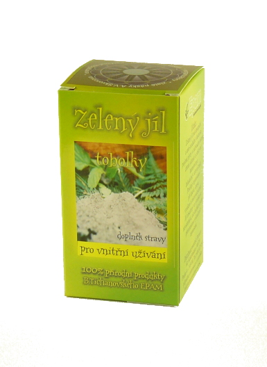 EPAM Zelený jíl EPAM tobolky, 56 tob.