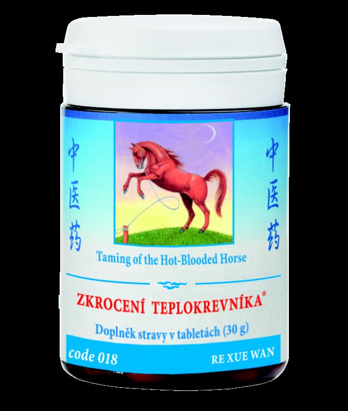 TCM Herbs Zkrocení teplokrevníka, 100 tbl
