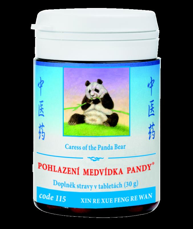 TCM Herbs Pohlazení medvídka pandy, 100 tbl