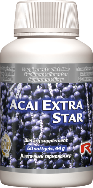 Starlife Acai Extra Star, 60 sfg