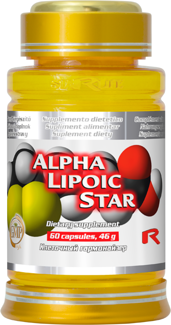 Starlife Alpha Lipoic Star, 60 cps