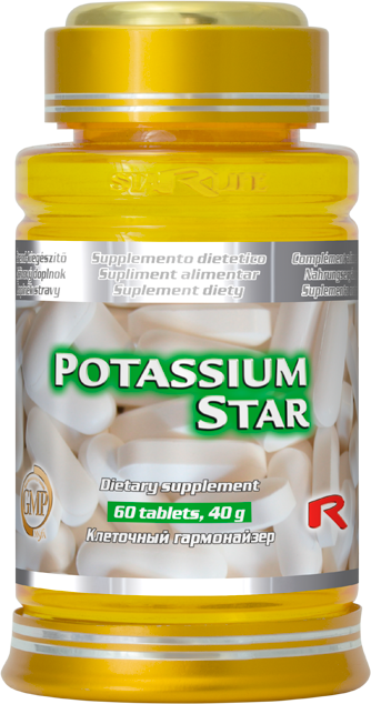Starlife Potassium Star, 60 tbl