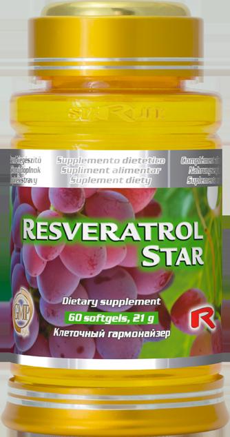 Starlife Resveratrol Star, 60 sfg