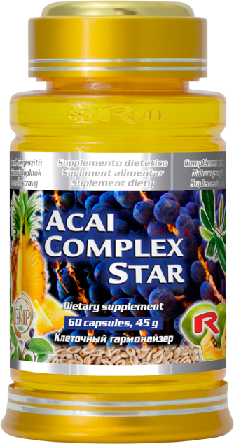 Starlife Acai Complex Star, 60 cps