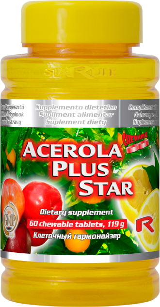 Starlife Acerola Plus Star, 60 tbl