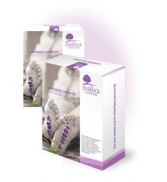 OMA Impex CZ Lavender Patch - Detoxikační náplast levandulová, 10ks