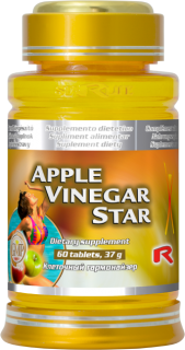 APPLE VINEGAR STAR, 60 tbl