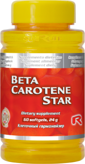 BETA CAROTENE STAR, 60 cps